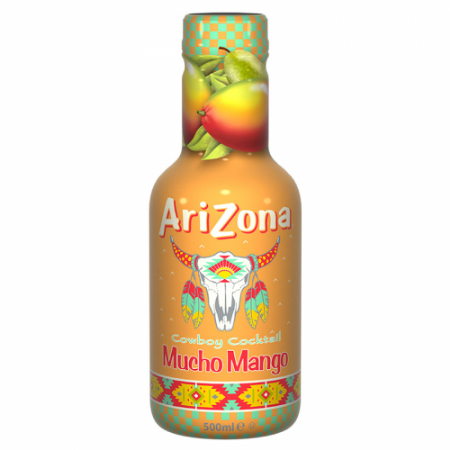 AriZona Cowboy Cocktail Mucho Mango 500ml ( Netherlands )